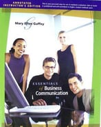 Essentials Of Business Communication, 8th Edition