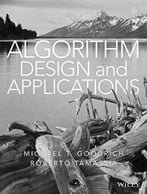 Algorithm Design And Applications