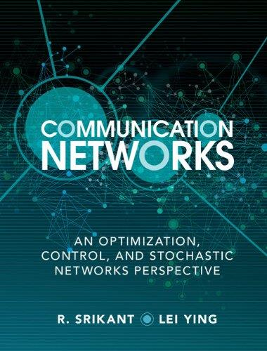Communication Networks: An Optimization, Control And Stochastic Networks Perspective