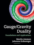 Gauge/Gravity Duality: Foundations And Applications