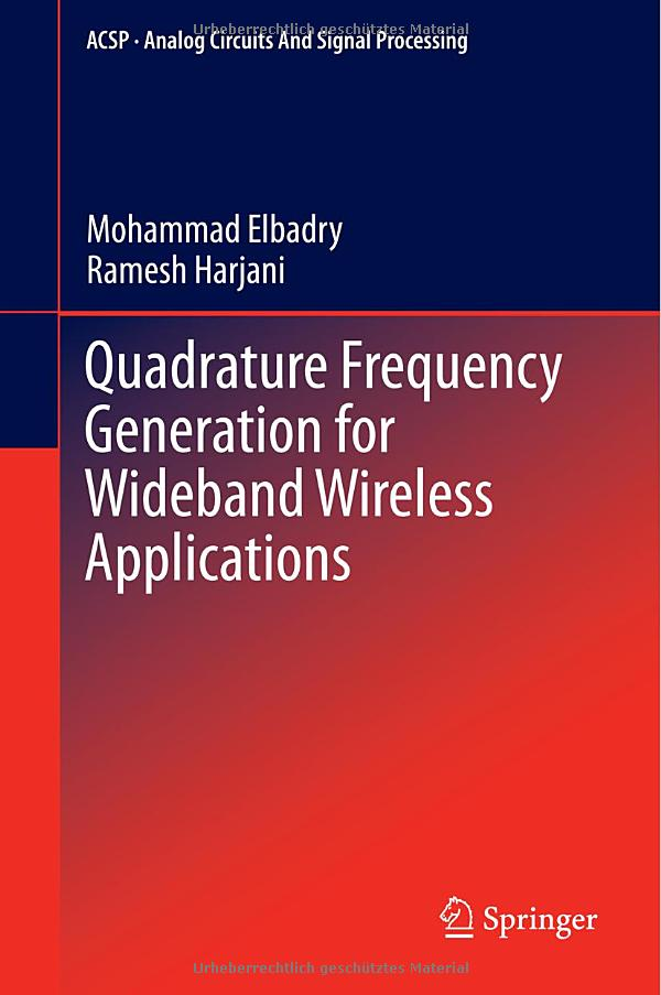 Quadrature Frequency Generation For Wideband Wireless Applications