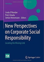 New Perspectives On Corporate Social Responsibility