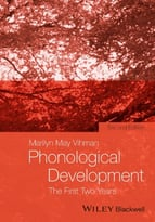 Phonological Development: The First Two Years, 2nd Edition