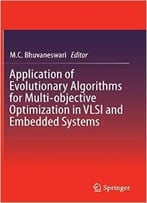 Application Of Evolutionary Algorithms For Multi-Objective Optimization By M.C. Bhuvaneswari