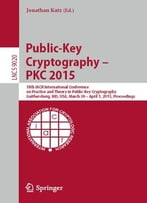 Public-Key Cryptography — Pkc 2015