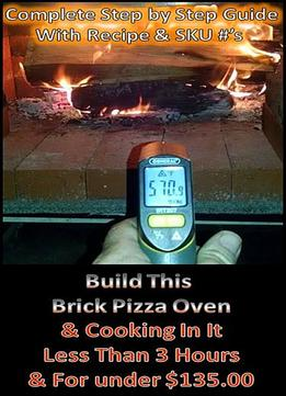 Backyard Brick Pizza Oven Today For Under $135.00