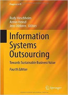 Information systems outsourcing towards sustainable for Armin heinzl