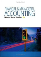 Financial & Managerial Accounting: Student'S Book, 13th Edition