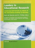 Leaders In Educational Research By Maria De Ibarrola