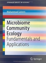 Microbiome Community Ecology: Fundamentals And Applications