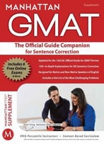 The Official Guide Companion For Sentence Correction (Manhattan Gmat)