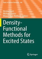 Density-Functional Methods For Excited States
