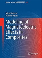 Modeling Of Magnetoelectric Effects In Composites By Mirza (M I. ). Bichurin
