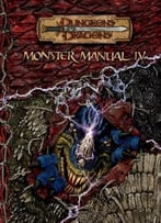 Monster Manual Iv (Dungeons & Dragons) By Gwendolyn Kestrol