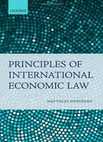 Principles Of International Economic Law