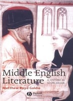Middle English Literature: A Historical Sourcebook