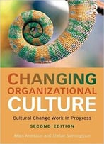 Changing Organizational Culture: Cultural Change Work In Progress, 2 Edition