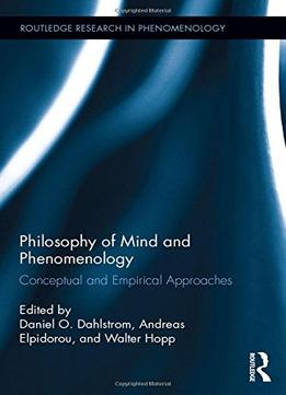 phenomenological research approach In these four thinkers we find different conceptions of phenomenology, different methods and some look to empirical research in today's cognitive neuroscience.