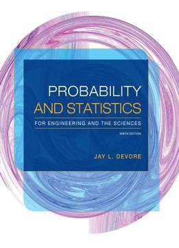 DEVORE AND PROBABILITY STATISTICS