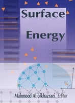 Surface Energy Ed. By Mahmood Aliofkhazraei