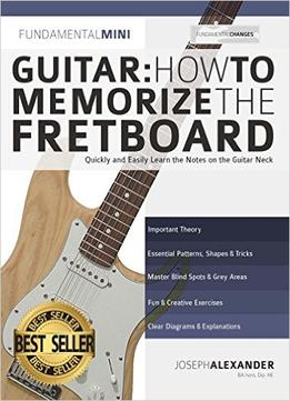 guitar how to memorize the fretboard quickly and easily learn the notes on the guitar neck. Black Bedroom Furniture Sets. Home Design Ideas