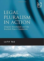 Legal Pluralism In Action: Dispute Resolution And The Kurdish Peace Committee