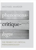 Phenomena-Critique-Logos: The Project Of Critical Phenomenology