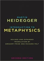 Introduction To Metaphysics, 2nd Edition