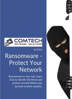 Ransomware: Protect Your Network
