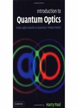 Introduction To Quantum Optics