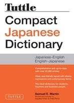 Tuttle Compact Japanese Dictionary (2nd Edition)