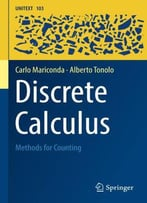 Discrete Calculus: Methods For Counting