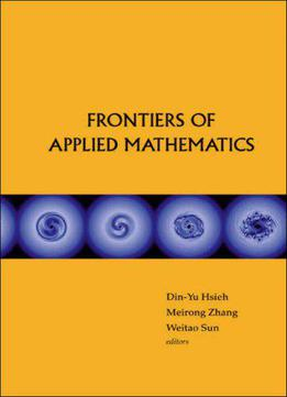 Frontiers Of Applied Mathematics