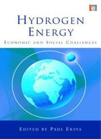Hydrogen Energy: Economic And Social Challenges
