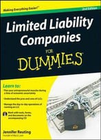 Limited Liability Companies For Dummies, 2nd Edition