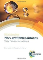 Non-Wettable Surfaces: Theory, Preparation And Applications