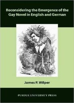 Reconsidering The Emergence Of The Gay Novel In English And German (Comparative Cultural Studies)