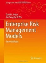 Enterprise Risk Management Models (Springer Texts In Business And Economics)