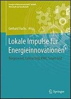 Lokale Impulse Fur Energieinnovationen: Burgerwind, Contracting, Kraft-Warme-Kopplung, Smart Grid (Energie In Naturwissenschaft, Technik, Wirtschaft Und Gesellschaft)