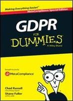 Gdpr For Dummies: Metacompliance Special Edition