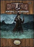 Deadlands Reloaded Marshal's Handbook (Savage Worlds, S2p10205)