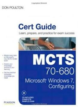 mcts guide to configuring microsoft windows Mcts guide to microsoft windows server 2008 applications infrastructure configuration (exam # ) chapter six configuring windows server 2008 web services, part 1 objectives create and configure web.