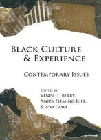 Black Culture And Experience: Contemporary Issues (Black Studies And Critical Thinking)