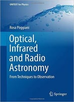 Optical, Infrared And Radio Astronomy: From Techniques To Observation