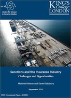 Sanctions And The Insurance Industry: Challenges And Opportunities
