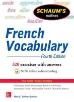 Schaum's Outline Of French Vocabulary, 4 Edition