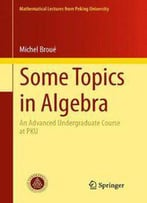 Some Topics In Algebra: An Advanced Undergraduate Course At Pku