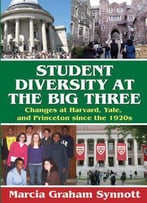 Student Diversity At The Big Three: Changes At Harvard, Yale, And Princeton Since The 1920s