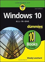 Windows 10 All-In-One For Dummies (2nd Revised Edition)