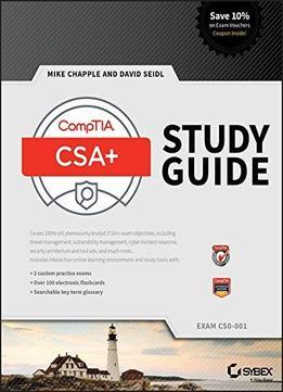 Comptia Cybersecurity Analyst Csa Study Guide Exam Cs0